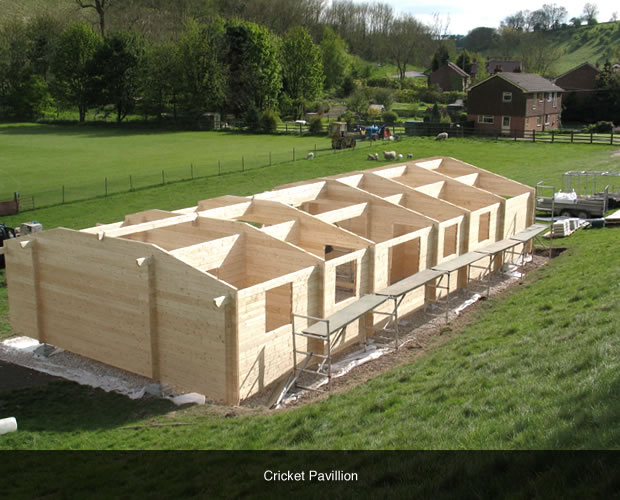 Swift Plinth Cricket Pavillion