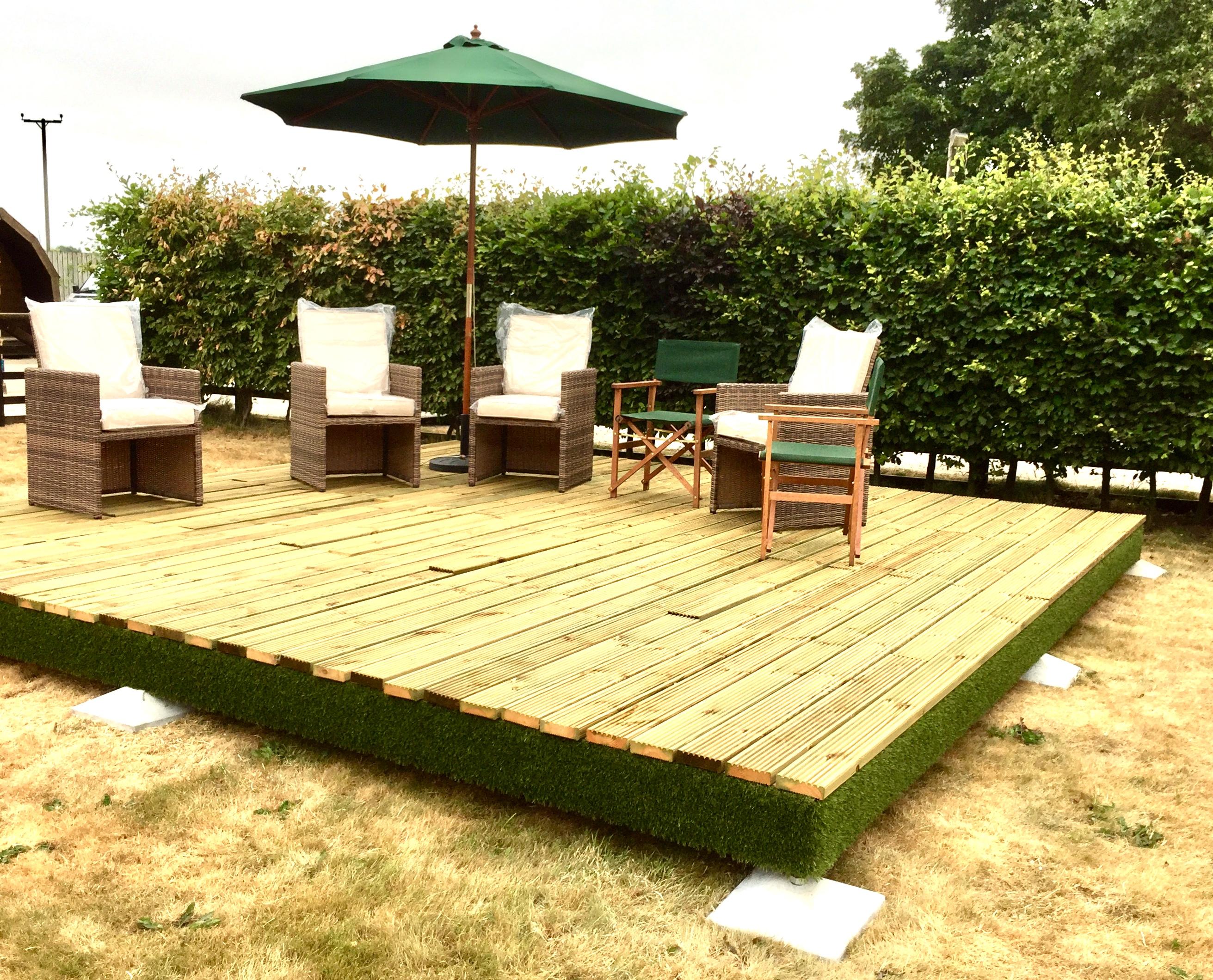 Swift Deck Complete Garden Decking Kits